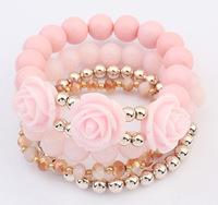 YXSP4681     2014 new fashion  Retro wild roses   Bracelets for women