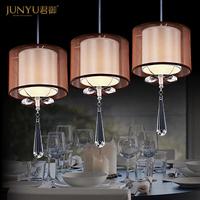 chandeliers pendant single head three crystal chandeliers lighting fixtures 4042-1 Bar Restaurant