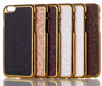Free shipping i6  case Hot sale For i phone 6 business case for I phone 6 Electroplating