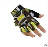 Wholesale cycling gloves Tactical Gloves Army Half Finger Airsoft Combat Tactical Gloves Freeshipping  3colour M L XL     058