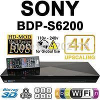 New BDP-S6200 Blu-ray Disc DVD Player Full HD 1080p 4k Wi-Fi 3D USB Input All Region Code Free Ships to: Worldwide DHL UPS