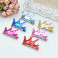 Wholesale Hot Products(40 pcs\ lot) Korean Children Headdress \ PU- 3D Imperial Crown Hairpin