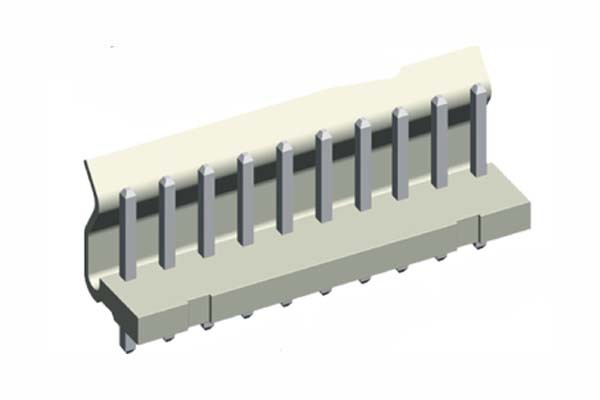 Precision Electronic 3.96mm Wafer Straight Dip Type Connectors(China (Mainland))