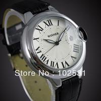 2014 New Luxury Woan Crown Clock Classic Winner Calendar Design Military Automatic Mechanical Hand Watch