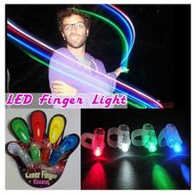 New Arrival 4 color led finger lamp,LED finger light,Laser Finger,Show Party Decoration Big Discount(China (Mainland))