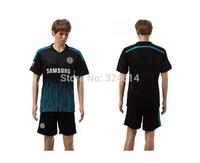 2014-2015 Chelsea away soccer jerseys,soccer uniform,trainning jerseys 100% embroidery