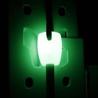luminous handle survival magnesium flint stone fire starter lighter 8mm fire maker flint rod and stell