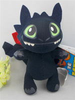 18cm high New arrival How to Train your Dragon plush Character toy Toothless Night Fury plush doll
