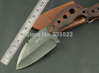2014 New BOKER- Dapeng wings Mike Ta stonewashed steel handle Blade material: 7Cr17Mvo hunting Knife HK Free Shipping