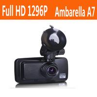 Car camera recorder  DX100 Ambarella A7L70D Cpu Super HD 2304*1296P@30fps with GPS Logger + 160 degree + 1920*1080P@60fps + LDWS