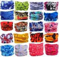 10pcs/lot Outdoor Sports Bicycle Riding Variety Turban Magic Headband Veil Multi Head Scarf  Bandanas