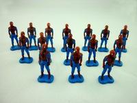 """200pcs/lot Marvel Superman  PVC Action Figure Collection Classic Toy 1"""" 2.5cm"""