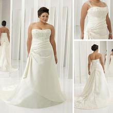 wholesale tea length plus size wedding dress