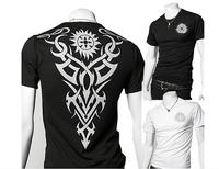 New spring 2014 fashion cotton man t -shirts short-sleeved men's summer shirts XXL size shorts