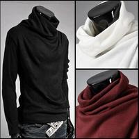Man Fashion Slim Fit T Shirt Men Long Sleeve Shirt Men Clothes Autumn-Winter New 2014 L XL XXL