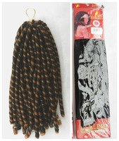 5PACKS/LOT  Darling Soft dred synthetic hair extension
