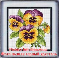 5D DIY diamond Painting crystal lucky fruit flower 3D Cross Stitch Decorative diamond embroidery Rhinestone 19 * 21CM