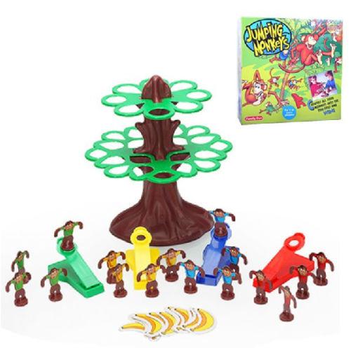 Monkey Banana Game Monkeys Tree Banana Family