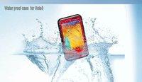 6 Colors General Waterproof Snowproof Dirtproof Shockproof Diving Case for Samsung Galaxy Note 3 N9000