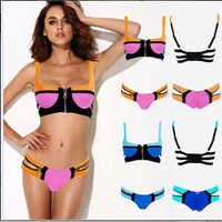 2014 Hot Sale Women's Bikinis Set Sexy Lady Swimsuit Bandage Bikini