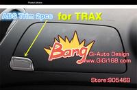 2014new arrival Chevrolet TRAX  TRACKER high quality ABS CHROME STORAGE SLOT trim interior decoration 2P/SET