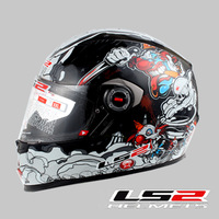 Ls2 helmet ff358 motorcycle helmet 4wd automobile race sports car