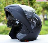 the DOT adult flip up MOTO modular casco capacete motorcycle helmet motocross racing helmets dual lens better than jiekai helmet
