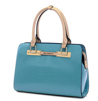 freeshipping new 2014 women's handbag serpentine pattern women's handbags messenger bags