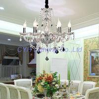 Free Shipping 6 lights modern crystal Stair chandelier 110-240V Voltage