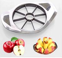 New Stainless steel Apple Cutter Corer Slicer Easy Cutter Cut Fruit Knife Cutter Pear