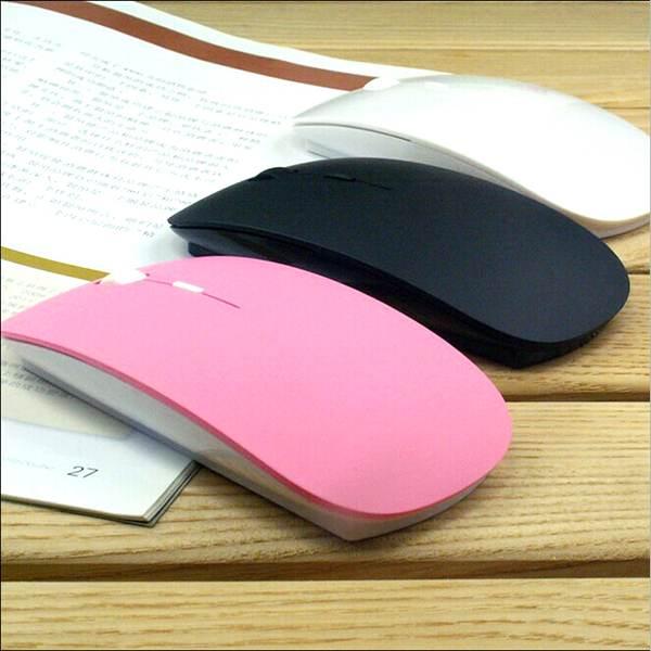 2.4G Slim USB Mini Wireless RF Optical Mouse Mice For Laptop PC Mac Macbook HP(China (Mainland))