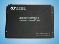 Full Color Asynchronous -Synchronous Controller HD-A601 LED Media Player Controlling 800*600H For Full Color LED Display
