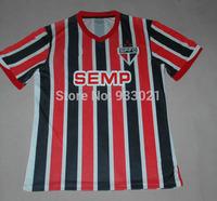 Free ship Best Thai Quality 2014 Sao Paulo Jersey Home Away Soccer Shirt Football Uniforms 14 15 Sao Paulo Ademilson10 Player
