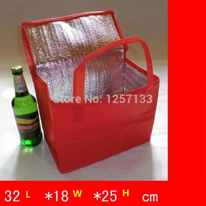 atacado 2 peças bolsa térmica isolados saco térmico lancheira para crianças ao ar livre saco térmico(China (Mainland))