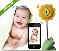 Free Shipping WiFi Security baby monitor Camera Night Vision Smartphone Audio wireless Camera