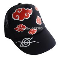 3pcs Anime Cosplay Naruto Akatsuki Orochimaru uchiha madara Sasuke itachi Trucker Skull Ball adjustable Cap, Hat Baseball hiphop