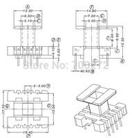 EE19transfoemer ferrite core and bobbin  YT-1924