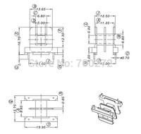 EE19transfoemer ferrite core and bobbin  YT-2002