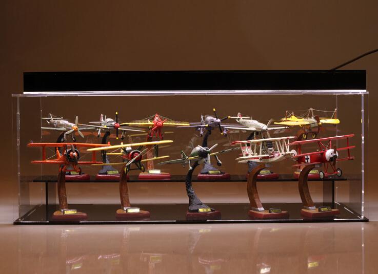 La seconde guerre mondiale 11pcs/set avion avion jouet modèle avec