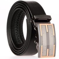 Frist layers cowhide belt/Men's belt /auto buckle belt / Genuine leather belt BF024