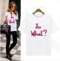 New 2014 summer dress t-shirt women shorts skirts plus size S-3XL  Woman's clothes