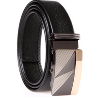 Frist layers cowhide belt/Men's belt /auto buckle belt / Genuine leather belt BF020