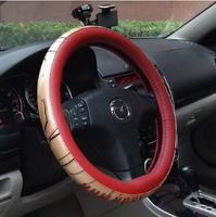 Iron Man steering wheel cover cartoon character latex Four Seasons General handlebar sets free shipping