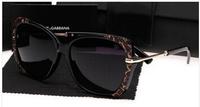Free Shipping 2014 Hot Fashion Sunglasses women brand designer Multi-Color UV Sun glasses With original box 6528
