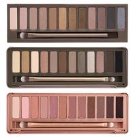3pcs/lot Wholesale 2014 New NAKE Makeup Set 12 Colors Eye Shadow Palette NK 1 2 3 Eyeshadow Palettes With Brush Free Dropshipp