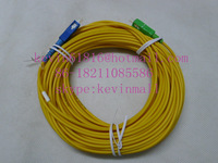 20m 3mm diameter, optical fiber jumper SC/APC-SC/UPC Connector single model  single core from Aviation brand pigtail