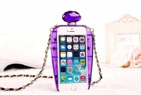 2014 free shipping apples plastic promotion tpu silicone mobile phone cover for iphone 5 perfume bottle case