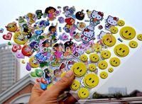 Children cartoon bubble stickers 0.46usd/pcs mini order 10pcs kindergarten reward Sticker baby bubble stickers Random delivery!