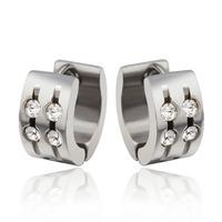 New arrivals  stainless steel hoop earrings for women jewelry