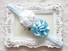 cheap white flower headband